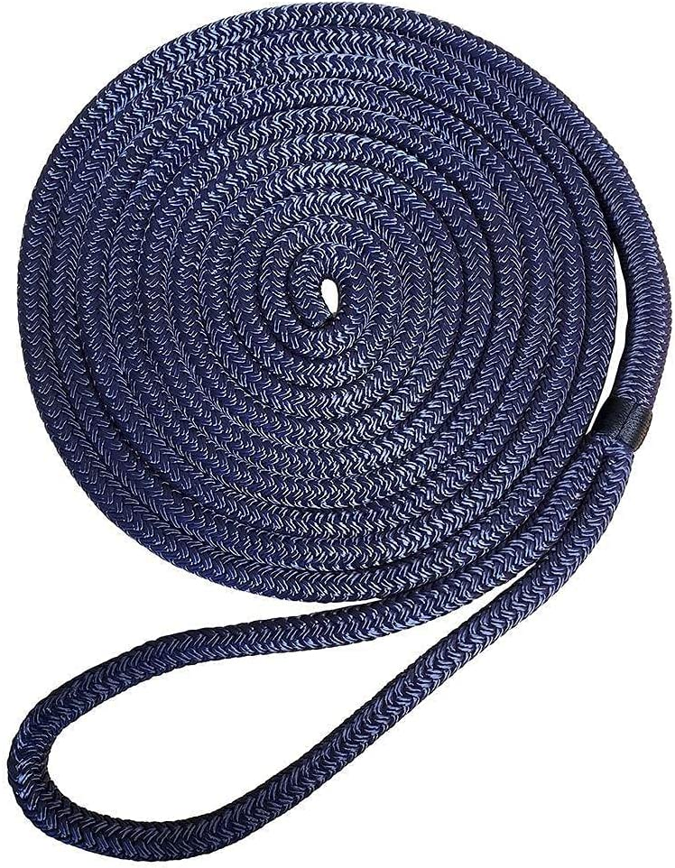 Robline Premium Super popular specialty store Nylon Double Los Angeles Mall Braid Color: Dock Blue Line Navy