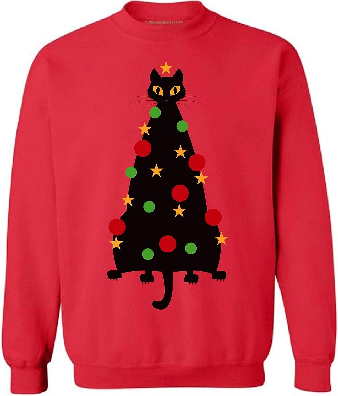 Awkward Styles Ugly Xmas Sweatshirt Christmas Cat Sweater