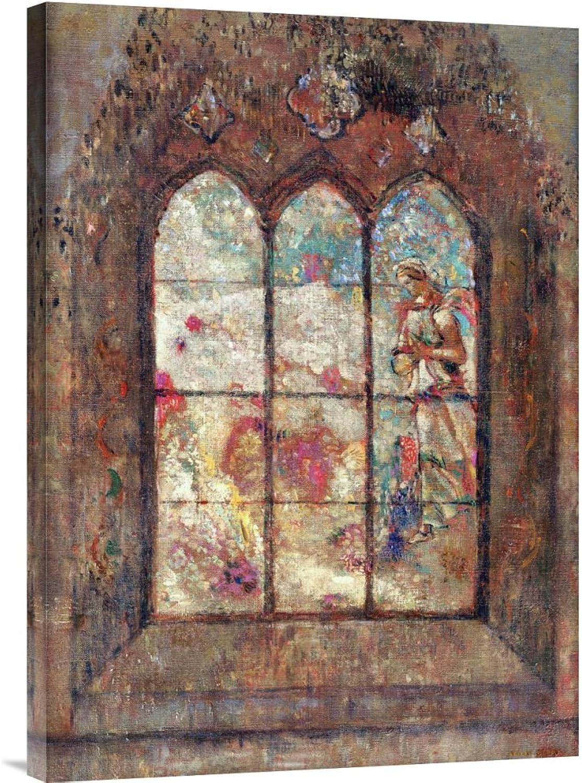 Global Galerie Budget gcs-265390–76,2–360,7 cm Lon roton Die Die Die Glasfenster Galerie Wrap Giclée-Kunstdruck auf Leinwand Art Wand B01K1PWJK2 | Online Shop  facb69