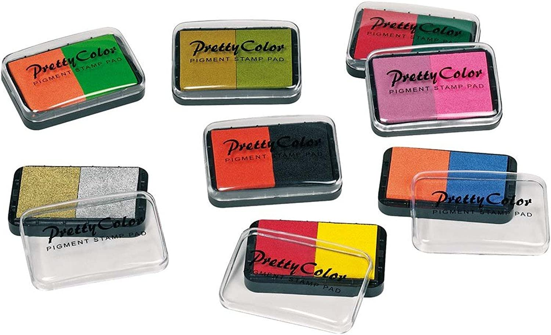 Pigment stamp pad  twotone