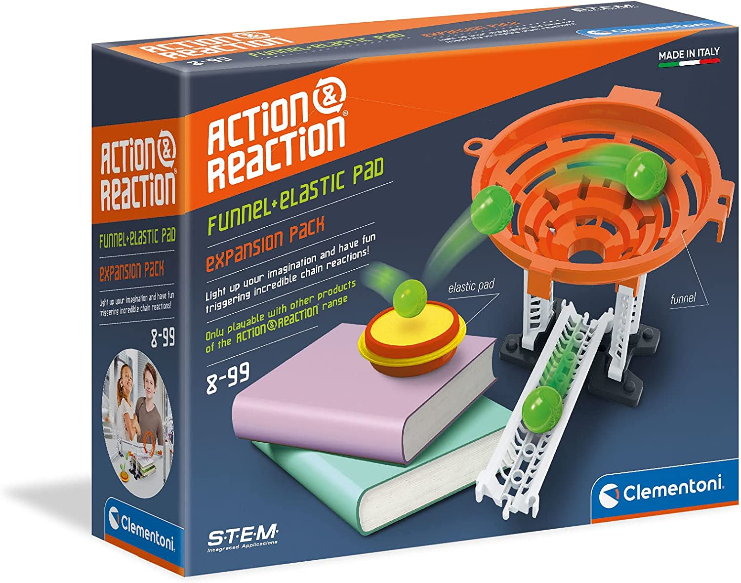 Clementoni Action Reaction Trampoline with Vortex Max 50% OFF Oakland Mall Accessory