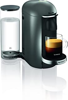 Breville-Nespresso USA BNV420TTN1BUC1 VertuoPlus Coffee and Espresso Machine, Titan