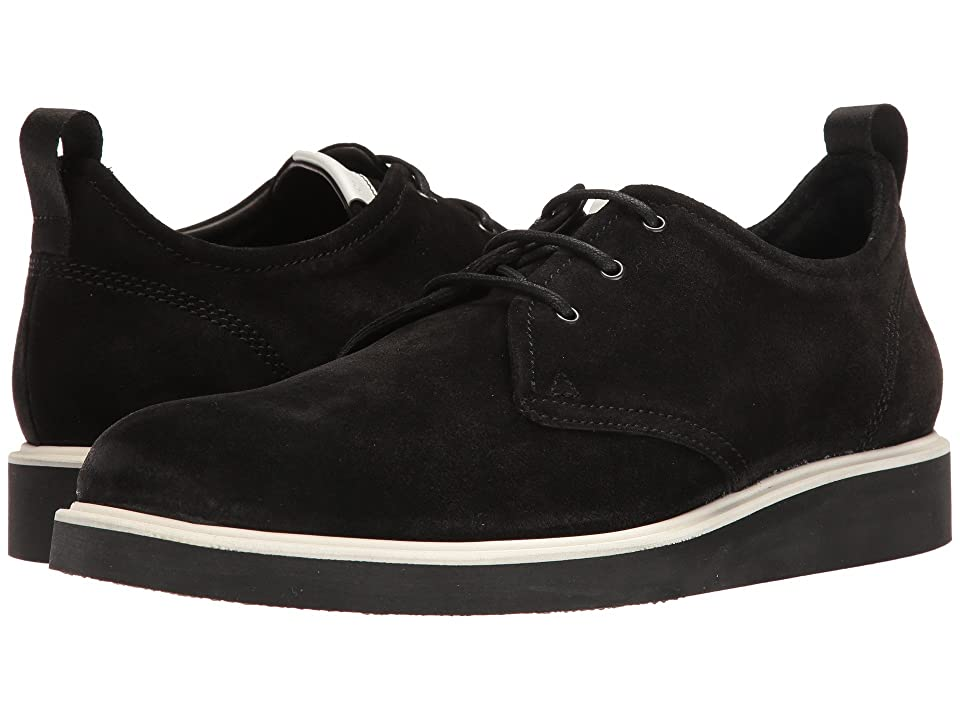 rag & bone Elliot Oxford (Black Waxy) Men
