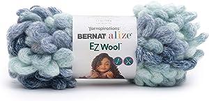 Bernat Alize EZ-Wool Yarn, Teal Surf