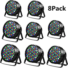 JRFY LED stage light 54X3W DMX 512 remote control stage light family party wedding party church concert bar light (8PCS)