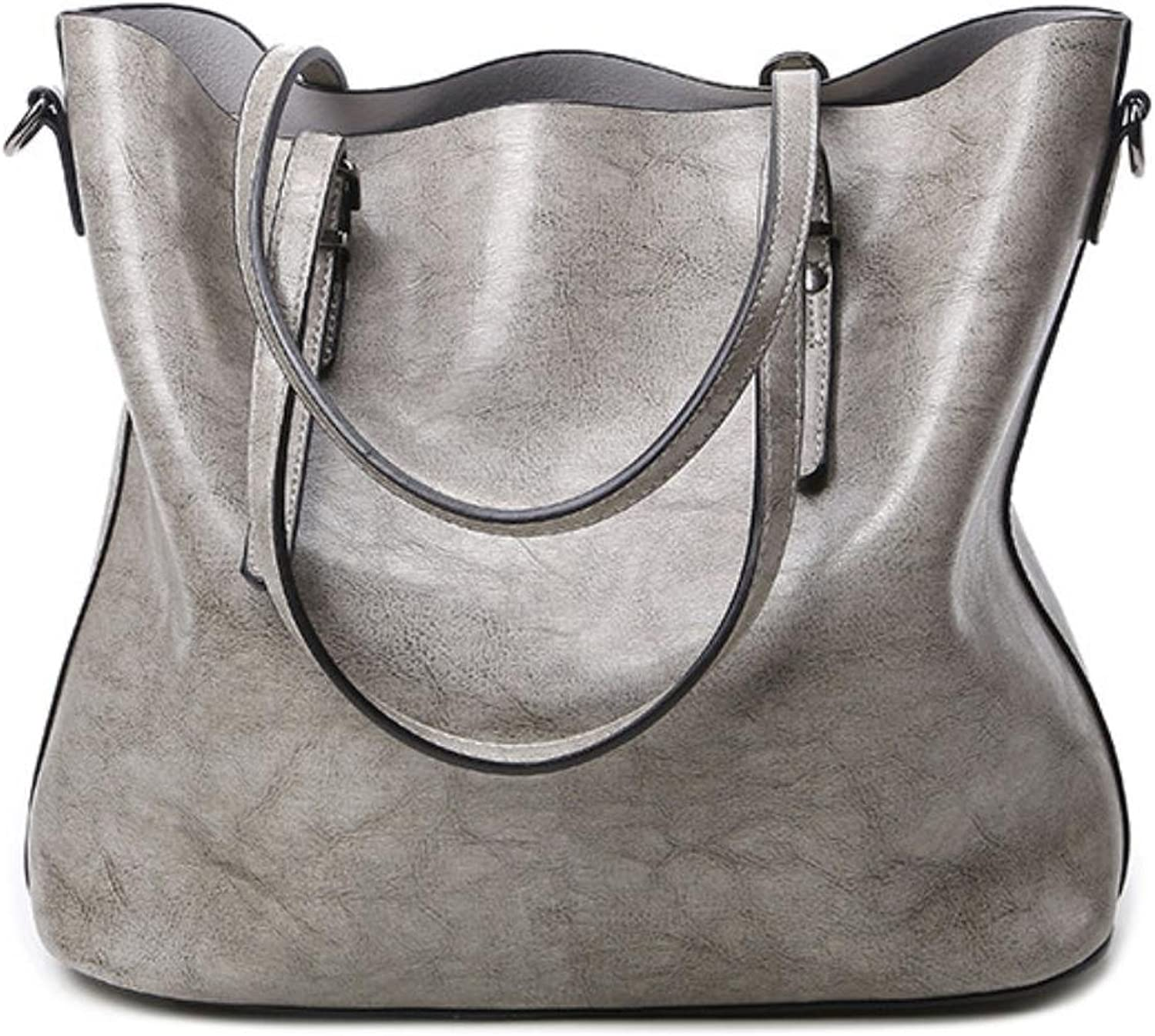 ELIM&PAUL PU Tote Bags Europe And Shoulder Handbags