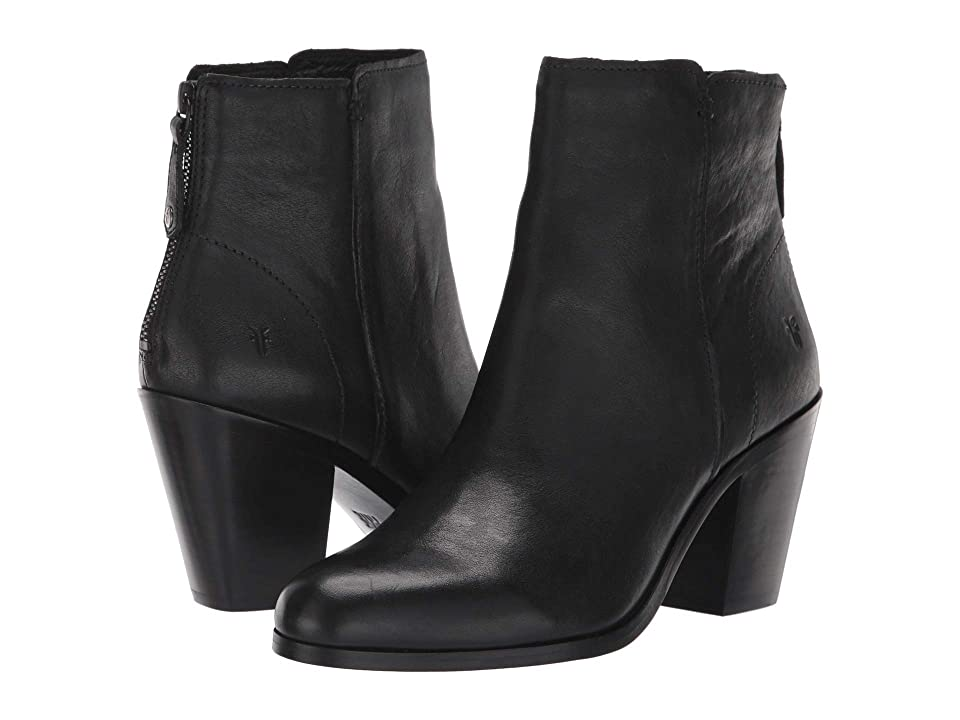 Frye Cameron Bootie (Black Tumbled Pull-Up) Women