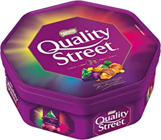 Quality Street Tub 650G - Assorted milk and dark chocolates and toffees