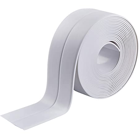 Details about  /Transparent Self Adhesive Acrylic Supply New 1Roll Kitchen Toilet Seal Tape CF