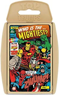 Retro Marvel Card Game