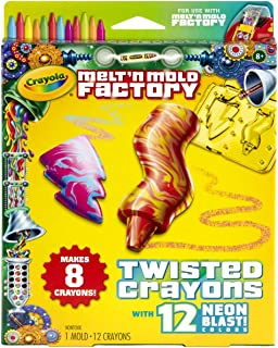 Crayola Melt 'N Mold Twisted Crayons Expansion Pack