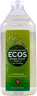 Earth Friendly Products Hand Soap Refill, Lemongrass, 32 Ounce