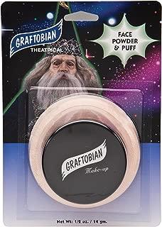 Graftobian Pro Setting Powder - Skin Tone Light w/Puff