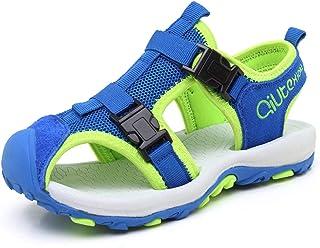 JIANKE Sandales Garcon Randonnée Marche Enfant Respirantes Chaussures de Plage