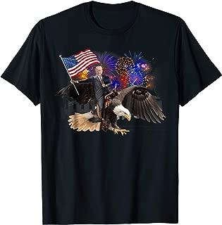 donald trump riding eagle shirt