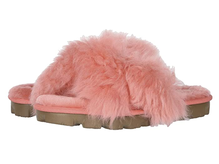 UGG  Fuzzalicious (Pop Coral) Womens Shoes