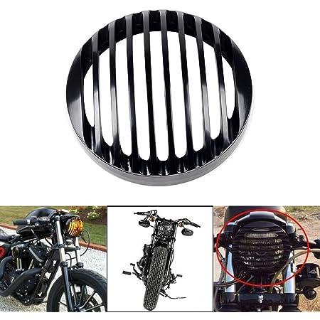 Scheinwerfergitter Osan 5 3 4 Zoll Aus Aluminium Für Harley Sportster Xl 883 1200 04 14 Auto