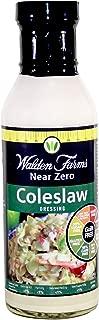 Walden Farms, Coleslaw Dressing, Fat Free, Gluten Free, 12 oz
