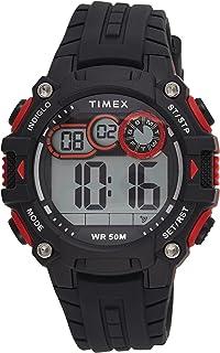 Timex Mens Quartz Watch, Digital Display And Silicone Strap - TW5M27000