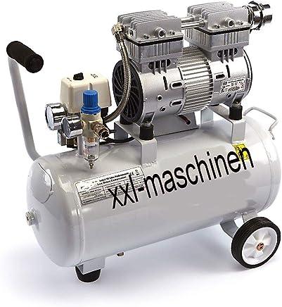 SENDERPICK Silent Fl/üsterkompressor Druckluftkompressor 57dB 8L 550W leise /ölfrei fl/üster Kompressor Compressor