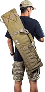 OneTigris Diablo Rifle Mat Case Tri-fold Design Tactical Padded Shooting Bag with Buit-in Mat with Carry Handle and Shoulder Strap