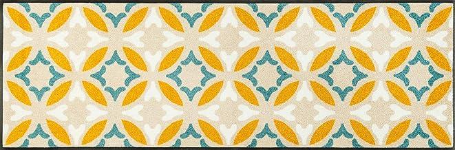 Wash&Dry Doormat, Acrylic Beige, 60 x 180 x 0.7 cm