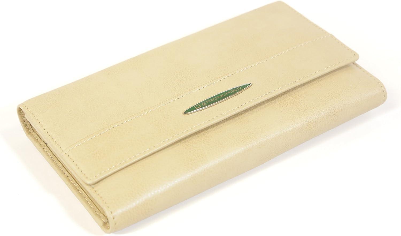 Deluxe Checkbook Wallet  RFID Blocking Ladies Wallet  RFID Wallet for Women
