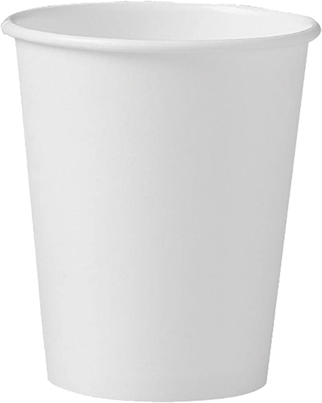 Solo 376W 2050 6 Oz White SSP Paper Hot Cup Case Of 1000