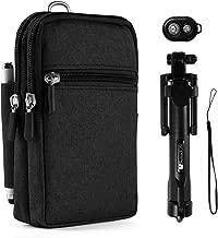 Durable Travel Waist Pouch Carrying Case Wireless Selfie Stick for Google Pixel 2, 2 XL, Nokia 6.1, 6.1Plus, 7Plus, LG Stylo 4, 3, G7 ThinQ