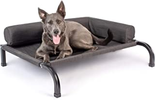 PetFusion Ultimate Elevated Outdoor Dog Bed   Large or Extra Large   Durable Steel Frame   370 GSM Breathable, Water Resis...