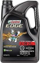 Best Castrol 03124 Edge 0W-20 Advanced Full Synthetic Motor Oil, 5 Quart Review
