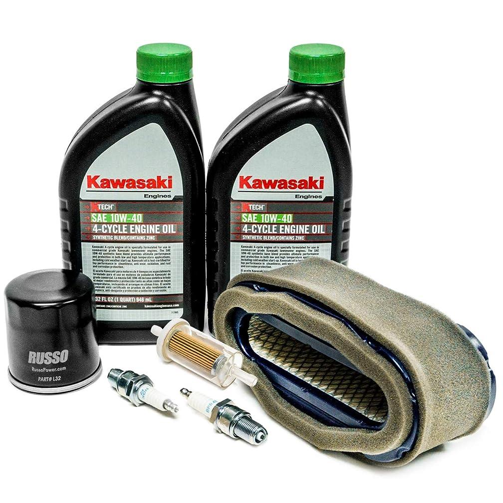 Engine Service Kit with OEM Kawasaki Oil 99969-6296 for FH601V FH641V FH680V FH721V Engines
