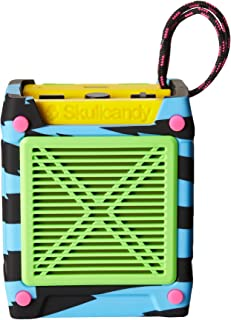 Skullcandy Shrapnel Splash and Drop Resistant Wireless Bluetooth Rechargeable Portable Speaker - Multicoloured