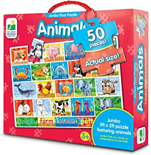 The Learning Journey Jumbo Animals Floor Puzzle
