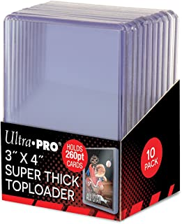 Ultra Pro Super Thick 260PT Toploader 10ct Pack 85238, One Size, Multi