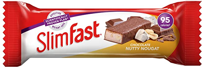 SlimFast Nutty Nougat Snack Bar 25 g – 24 Bars