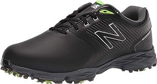New Balance Men's Striker v2 Golf Shoe, Black/Lime, 11.5 X-Wide