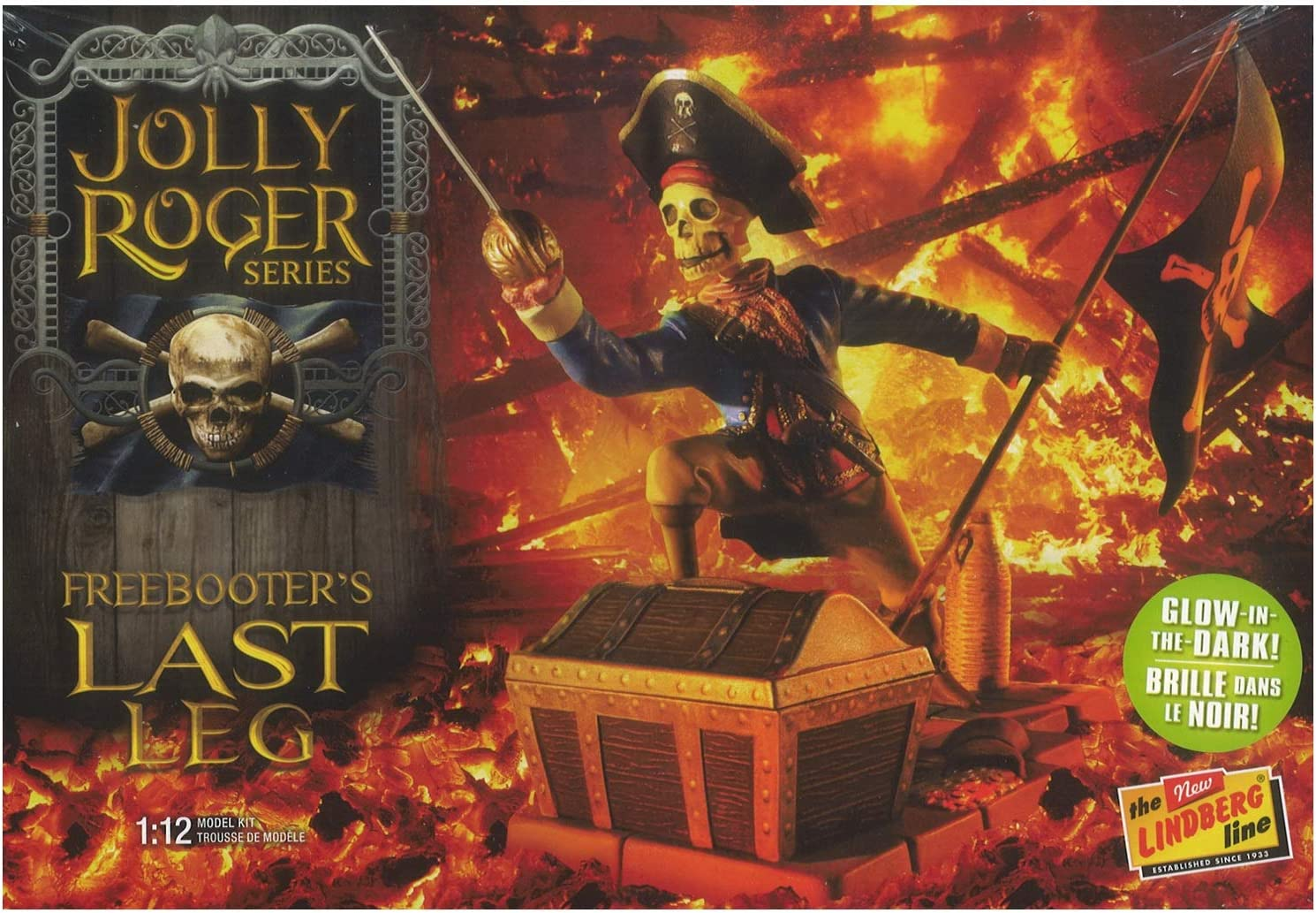Lindberg - Jolly Roger Series: Freebooter's Last 1:12 Surprise price Large-scale sale The Leg