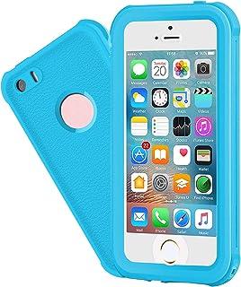 EFFUN Waterproof iPhone 5/5S/SE Case, IP68 Certified Waterproof Dustproof Snowproof Shockproof Case Fully Sealed Underwate...