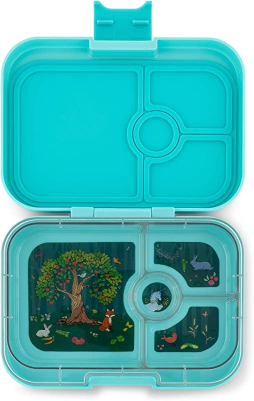 Yumbox Panino Leakproof Bento Lunch Box Container For Kids Adults Mystic Aqua
