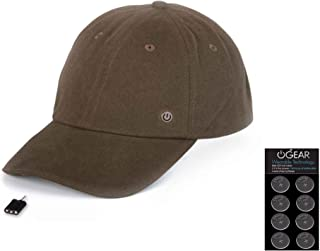 Power Gear Coin Battery Hat with Attachable LED Light