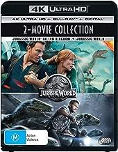 Jurassic World + Jurassic World - Fallen Kingdom (4K Ultra HD + Blu-ray)