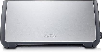 Sunbeam TA4540 Long Slot 4 Slice Toaster, Stainless Steel