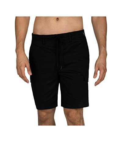 Hurley 20 One Only Cargo Shorts (Black) Men