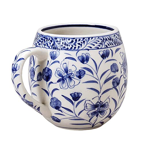 Decorative Arts Beautiful Vintage Hand Made Painted Porcelain Detailed Floral Arrangement Comfortable Feel Other Antique Decorative Arts
