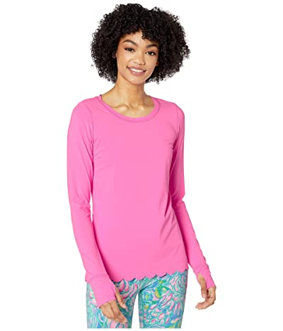 Lilly Pulitzer Renay Scallop Sunguard (Prosecco Pink) Women