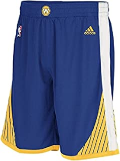 adidas NBA Golden State Warriors Youth Replica Shorts - Blue Boys 8-20