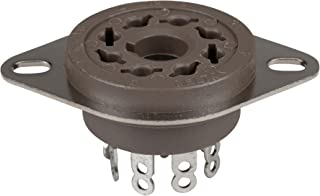 Parts Express 8-Pin Vacuum Tube Socket Belton Micalex Chassis Mount