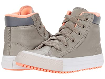 Converse Kids Chuck Taylor(r) All Star(r) PC Boot Hi (Little Kid/Big Kid) (Malted/Bright Coral/Silt Red) Girls Shoes
