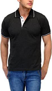Scott International Men's Solid Regular fit Polo